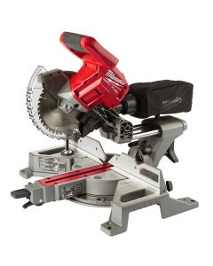 "Milwaukee 2733-20 M18 Fuel 7-1/4"" Dual Bevel Sliding Compound Miter Saw, Bare Tool"