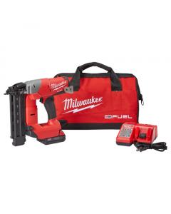 Milwaukee 2740-21CT M18™ FUEL™ Cordless Brad Nailer Kit, 18 gauge