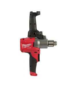 "Milwaukee 2810-20 M18 Fuel 18V Lithium-Ion Brushless 1/2"" Mud Mixer with 180° Handle, Bare Tool"