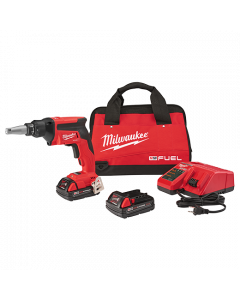 Milwaukee 2866-22CT M18 FUEL Cordless Drywall Screwgun Kit with Compact Batteries