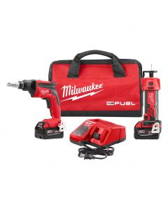 Milwaukee 2866-22P M18 FUEL Drywall Screwgun & Cutout Tool Combo Kit