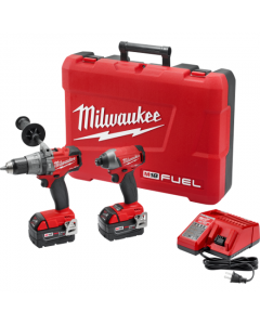 Milwaukee 2897-22 M18 FUEL Hammer Drill/Driver & Impact Driver 2-Tool Combo Kit