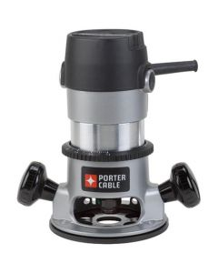 "Porter-Cable 690LR Single-Speed Fixed Base Router, 1/4"", 1/2"