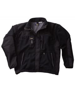Blaklader Workwear Two Fisted Fleece Jacket, Black - XXL