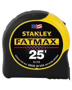 "Stanley 33-725 1-1/4"" x 25' FatMax Tape Measure"