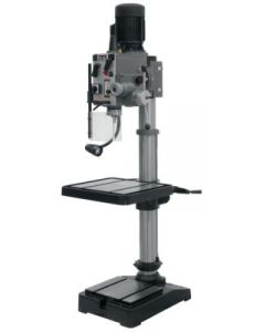 "JET 354024 GHD-20PF Geared Head Drill Press with Power Down Feed, 1-1/4"" Capacity, 2HP, 3Ph, 230V, 12 Speeds"