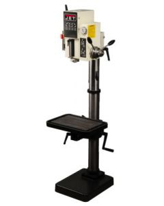 "JET 354036 J-A3008M-PF2 26"" Gear Head Drill Press with Powerfeed, 220V, 3PH"