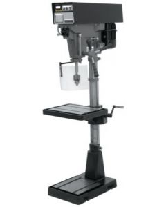 "JET 354550 J-A5816 15"" VARIABLE. SPEED FLOOR DRILL PRESS 1HP, 115/230V, 1PH"
