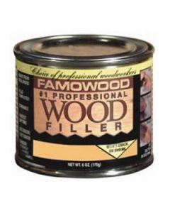 36041122 Famowood Wood Filler, 6 oz, Mahogany