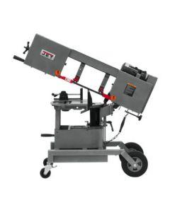 Jet 424460 HVBS-8-DMW Dual Mitering Portable Band Saw, 3/4 HP, 115/230 V