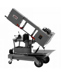 "Jet 424465 HVBS-10-BMWC 10"" Dual Mitering Portable Band Saw, 1 HP, 115/230 V"