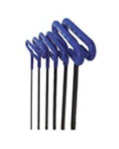 55166 6 Piece Metric T Handle Hex Key Set