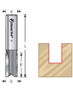 Left Hand Plunge Router Bits, 2 Flute, 1/2 Inch Shank