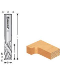 CNC Solid Carbide Compression Spiral Bits for MDF/Laminate, 2 Flute
