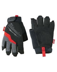 Milwaukee 48-22-8743 Fingerless Work Gloves, XL