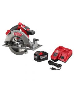 "Milwaukee 48-59-1890PC M18 9.0 Ah FUEL Cordless 7-1/4"" Circular Saw Kit"
