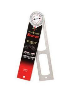 """505A-12 Starrett 12"""" Aluminum Miter Protractor"""