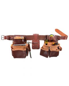 Occidental Leather 5080DB M Pro Framer Belt Set with Double Outer Bag, Medium