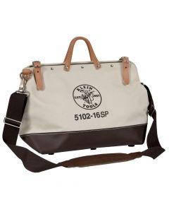 Klein 5102-16SP Tool Bag, 16 inch, Canvas Bag/Steel Frame