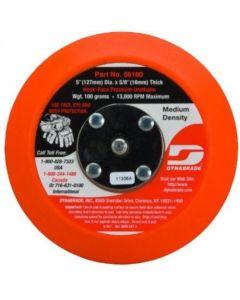 """Dynabrade 56180 5"""" Non-Vacuum Backup Pad, 5/16-24, Hook and Loop"""