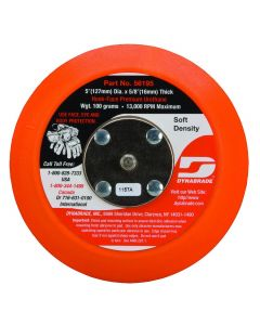 "56195 5"" H&L Non-Vac Soft Sanding Backup Pad, 5/8"" Thick, 5/16-24 Thread"