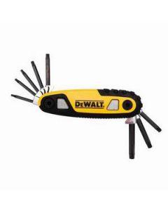 DeWalt DWHT70264 Folding Locking Hex Key Set, 8 Piece