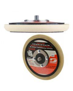"""57799 5"""" H&L Vacuum Radius Edge Backup Pad, 5/16-24 Thread"""