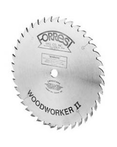 "10"" 40T ATB Woodworker II Saw Blade with 5/8"" Arbor, 1/8"" Kerf"