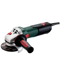 "Metabo W9-115 Quick 4-1/2"" Grinder, Lock-On Switch, 8.5 Amp"