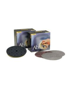 "Mirka 9A-262-120 Abranet 11"" 120 Grit Mesh Grip Disc, 50 Pack"