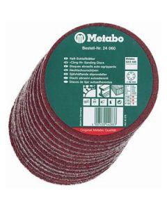"Metabo 624060000 3-1/8"" Sanding Disc Assorment, 25/Pack"
