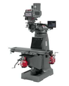 JET 691201 JTM-4VS Milling Machine with Newall DP700 2-Axis DRO & X & Y-Axis Powerfeeds