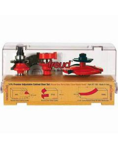 97-260 Freud Diablo Adjustable Cabinet Router Bit Set, 3 Piece