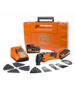 Fein 71292261090 18V Cordless MultiMaster Oscillating Multi-Tool Kit