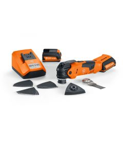 AFMT12QSL 12V MultiTalent QuickStart Cordless Oscillating Multi-tool Kit
