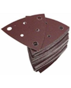 Fein 63717112017 Triangular H&L Abrasive Sheets with Dust Holes 120 Grit, 50/Pack
