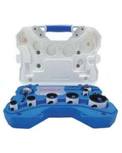 Lenox 21897 600P Plumber's Hole Saw Kit 30808