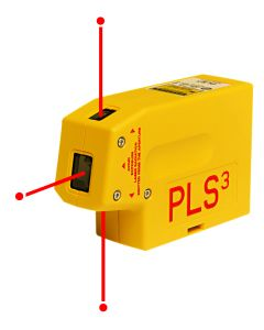 PLS3 Tool - Self-Leveling Laser, Point-to-Point