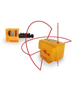 Pacific Laser Systems PLS 4 System - Horizontal, Vertical & Plumb Outdoor/Indoor Level Laser w/Detector (PLS4)
