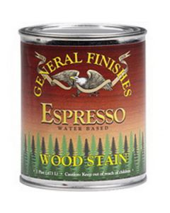 General Finishes Espresso EF Gel Stain, Quart