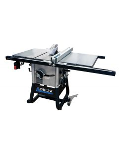 """36-5000 10"""" Left-Tilt Table Saw with 30"""" Right Hand Rip & Steel Wings"""