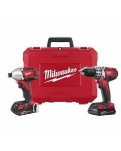 Milwaukee 2691-22 M18 Drill/Driver and Impact Driver Cordless Combo Kit