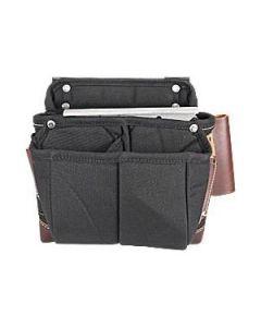 8564 Occidental Clip-On Carpenter Fastener Bag, Nylon/Leather