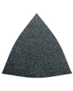 "Fein 63717083015 Triangular 3-1/2"" x 3-3/4"" Abrasive Sheet 80 Grit, 50/Pack"