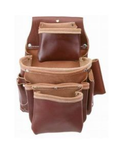 5062 Occidental Pro Fastener 4-Pouch Fastener Bag, Leather