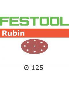 """Festool 499097 5"""" P120 Grit, Rubin2 Abrasives, Pack Of 50"""