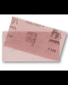 Mirka Abranet® 9A129240 Mesh Grip Sheet, 4 x 3 inch, Sanding, 240 Grit