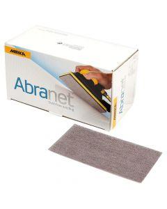 """Mirka 9A-178-080 Abranet 3"""" x 5"""" 80 Grit Sanding Grip Sheet, 50 Pack"""