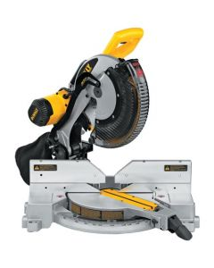 "DeWalt DW716 12"" Double-Bevel Compound Miter Saw, 3600 RPM"