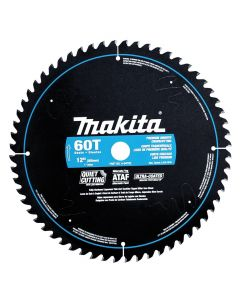 "Makita A-94792 12"" 60T ATAF Ultra Coated Premium Smooth Crosscutting Circular Saw Blade"